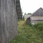 barn behind