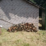 starting wood stack