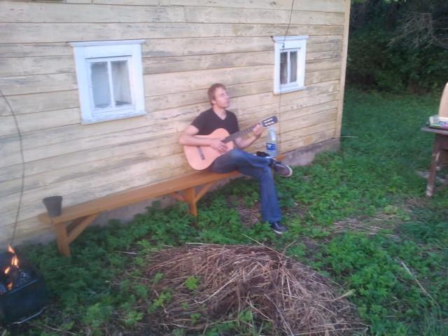 back porch musician