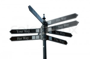 Your way pointer