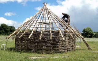 Wattle & daub structure