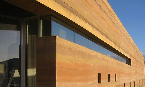 Stabilized Earth Walls Construction : Stabilized insulated rammed earth izreal