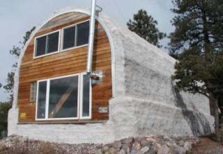 Papercrete house 2