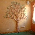 Cob Tree on the Wall
