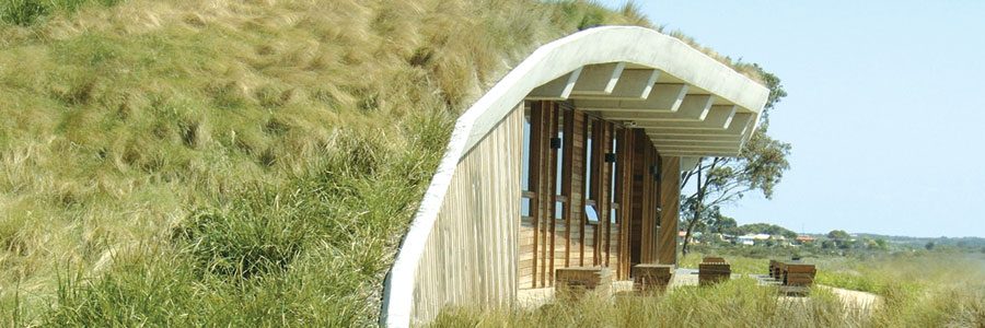 Earth sheltered homes izreal for Earth berm construction