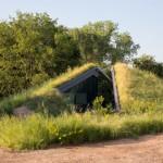 Green Lawn Underground House Minimalist Look Garden Look